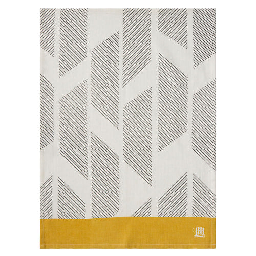 Diagonal Stripes Tea Towel