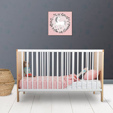 Load image into Gallery viewer, Linen Cot Quilt Set in Pink