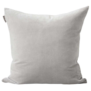 Aura Lux Velvet Cushion - Dove