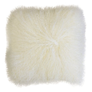 Tibetan Lamb Fur Cushion - Square