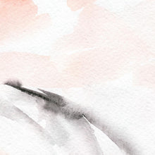 Load image into Gallery viewer, Blush Watercolour Canvas - 100x100cm