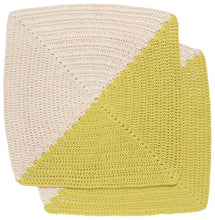 Load image into Gallery viewer, Danica Studio Angle Crochet Dishcloth - Citrine