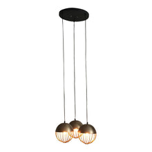 Load image into Gallery viewer, Durie Design Gold Sputnik Pendant Light