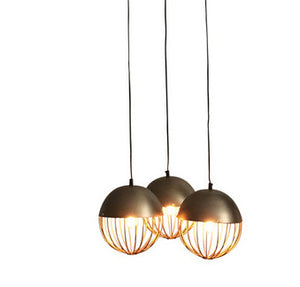 Durie Design Gold Sputnik Pendant Light