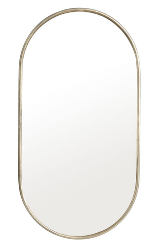 Noix Oval Mirror