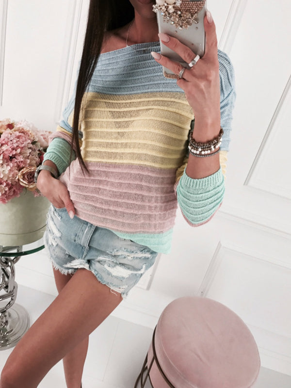 Stripes Long Sleeve Sweater