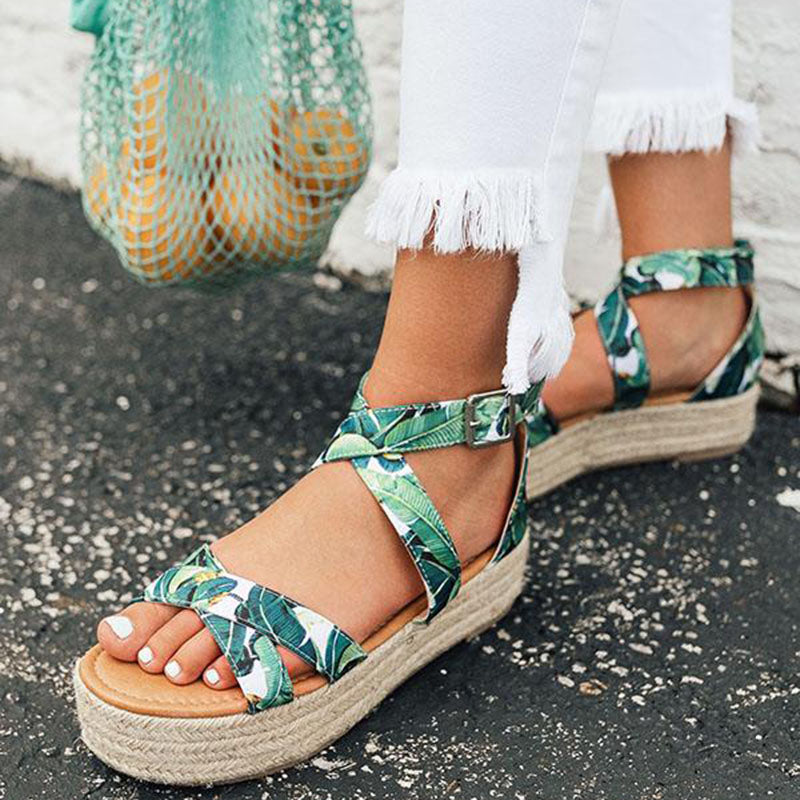 Women Espadrille Platform Sandals