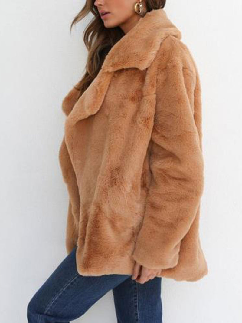Sexy Lapel Long sleeved Jacket