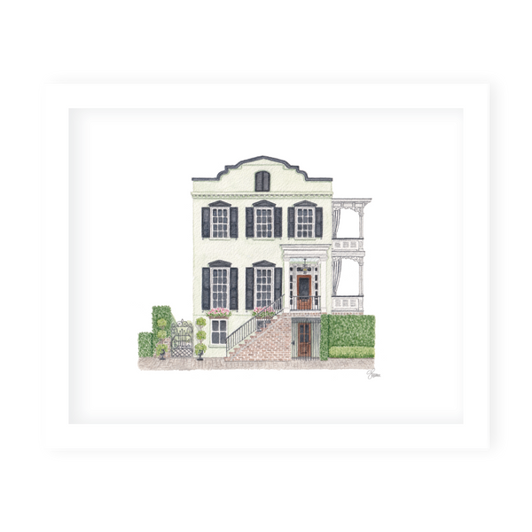 Savannah Jones House Art Print