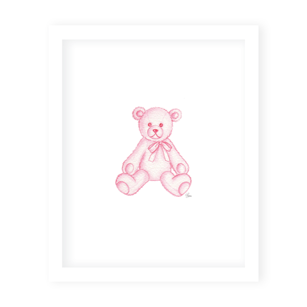 Sugar and Spice Bear Print