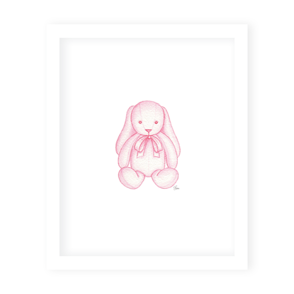 Sugar and Spice Bunny Print