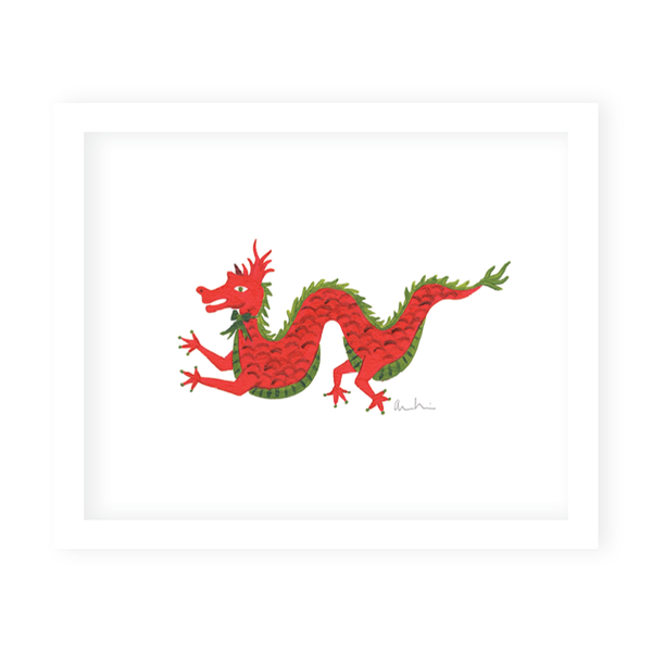 Imperial Dragon Print