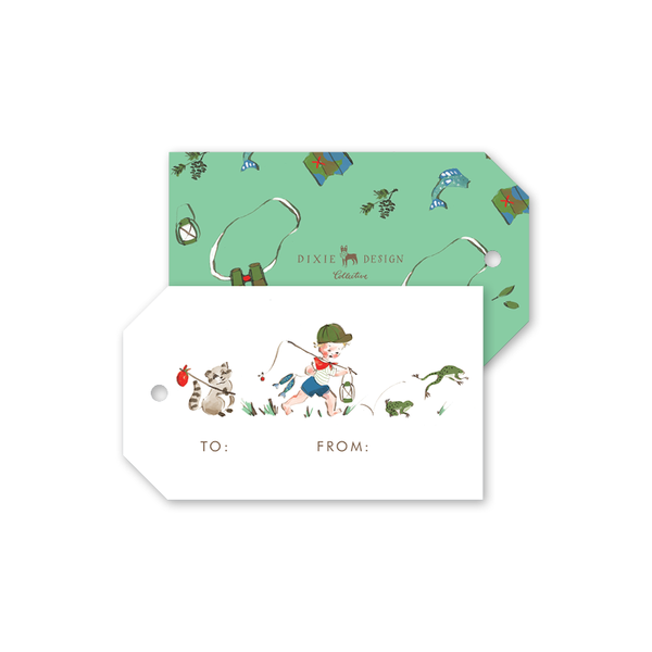 Adventure Boy Gift Tags
