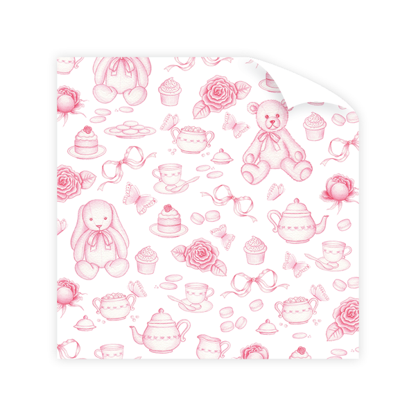 Sugar and Spice Wrapping Paper Sheet
