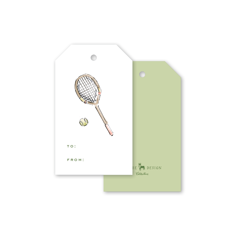 Tennis Gift Tags
