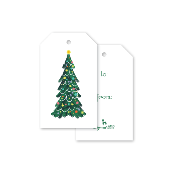Bells and Baubles Tree Gift Tags