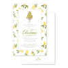 Christmas Lemon Imprintable Invitation