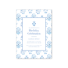 India Block Print Imprintable Invitation