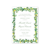 English Ivy Imprintable Invitation
