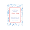 French Chinoiserie Imprintable Invitation