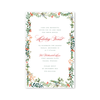 Antler Garland Imprintable Invitation