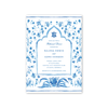 Palladio Blue Imprintable Invitation