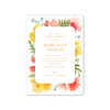 Flower Garden Imprintable Invitation