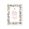 Holiday Flora Imprintable Invitation