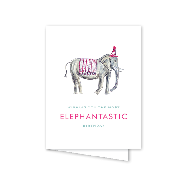 Party Animals Pink Elephant