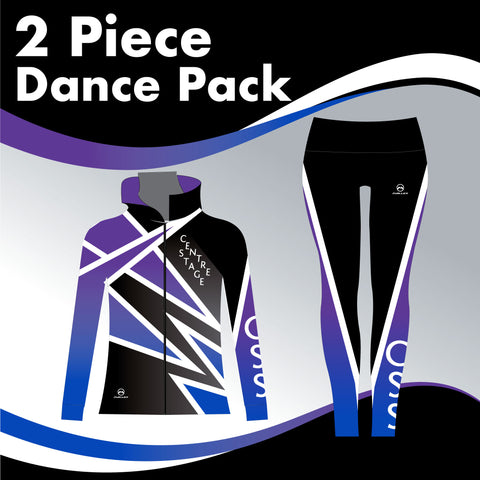 CENTRE STAGE 2 GARMENT DANCE PACK