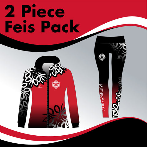 Murphy Gray Academy 2 GARMENT IRISH DANCE PACK