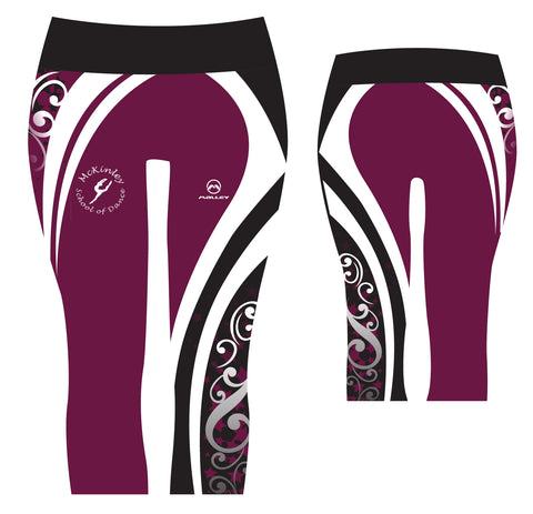 McKinley School 3/4 length Capri leggings