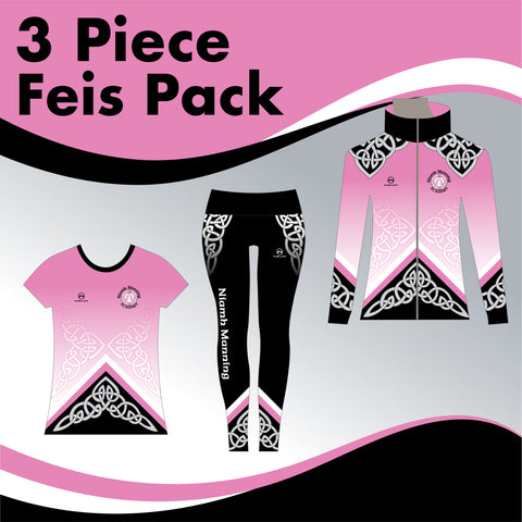 Niamh Manning Academy 3 GARMENT IRISH DANCE PACK