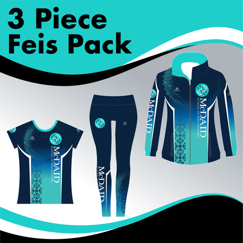 McDaid School 3 GARMENT IRISH DANCE PACK