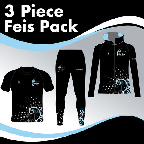 STARLIGHT MALE 3 GARMENT IRISH DANCE PACK