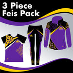 NAUGHTON 3 GARMENT IRISH DANCE PACK