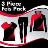 Cabe Academy 3 GARMENT IRISH DANCE PACK