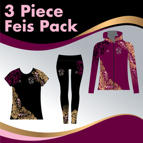 CAULFIELD 3 GARMENT IRISH DANCE PACK