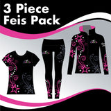 DAPA 3 GARMENT IRISH DANCE PACK
