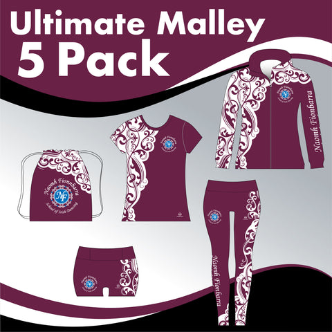 Naomh Fionnbarra School 5 GARMENT ULTIMATE IRISH DANCE PACK