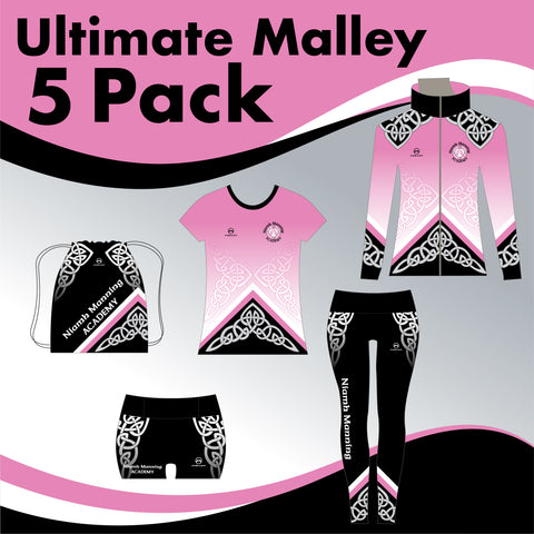 Niamh Manning Academy 5 GARMENT ULTIMATE IRISH DANCE PACK