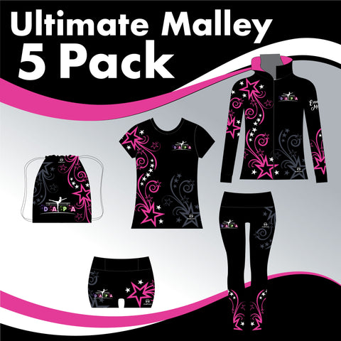 DAPA 5 GARMENT ULTIMATE IRISH DANCE PACK