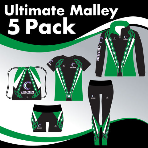 CRONIN 5 GARMENT ULTIMATE IRISH DANCE PACK