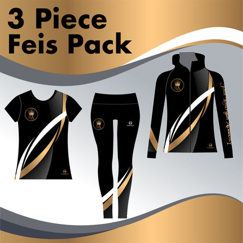 The John Lonergan Academy 3 GARMENT IRISH DANCE PACK