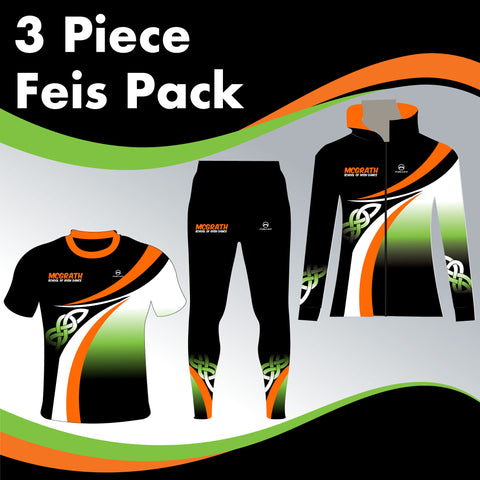 MCGRATH MALE 3 GARMENT IRISH DANCE PACK