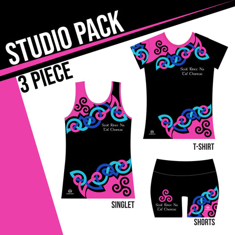 SCOIL RINCE NA TRI CHONTAE STUDIO PACK 3 PIECE