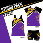 NAUGHTON STUDIO PACK 3 PIECE