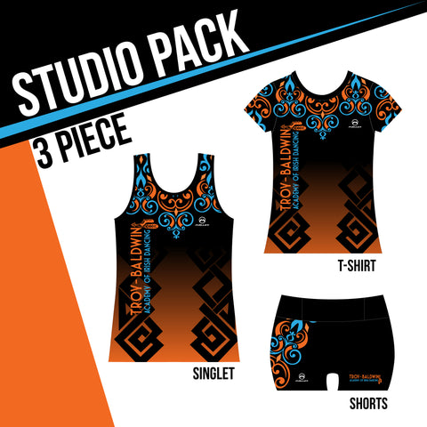 TROY-BALDWIN ACADEMY STUDIO PACK 3 PIECE