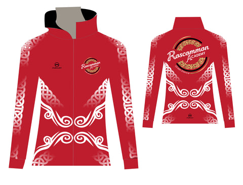 Roscommon Academy Alternative Tracksuit top - Red