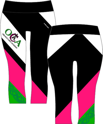 Orlagh Carty Academy 3/4 length Capri leggings